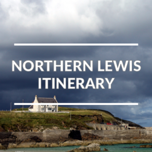 The norther part of the Isle of Lewis self-guided driving tour