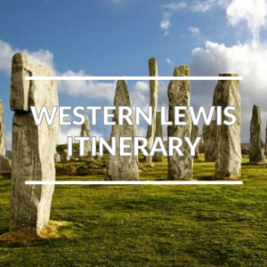 The west side of the Isle of Lewis self-guided driving tour