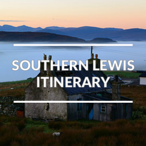 The south west part of the Isle of Lewis driving tour