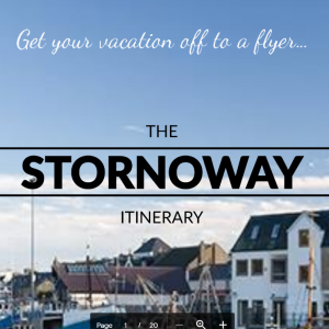 The Stornoway self-guided driving tour