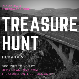 Stornoway and Point on the Isle of Lewis Treasure Hunt by Car