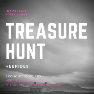 The north and west Isle of Lewis Treasure Hunt