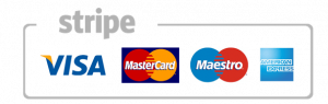 Card logos accepted by Stripe